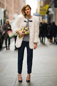 coat a faux fur