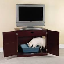 hide cat litter box furniture. or you might invest in a classy mahogany cabinet with secret hide cat litter box furniture