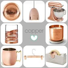 Small Picture Trending Copper Rose Gold Home Decor For The Home Pinterest
