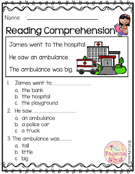 Free Reading Comprehension   Best of TPT   Reading Comprehension ...