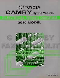 2010 toyota camry hybrid wiring diagram manual original