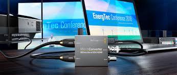 Blackmagic Design Hdmi To Sdi 6g Mini Converter Micro Converters Blackmagic Design