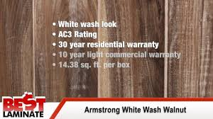 armstrong white wash walnut 12mm handsed laminate flooring review you