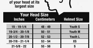 Easton Hockey Size Chart 44 Right Easton Batting Helmets Size Chart
