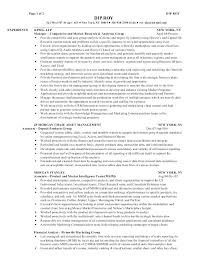 Equity Trader Resume Sample Helpful Best Solutions Of Resumes With