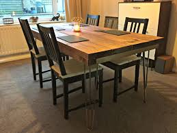 Hairpin dining table Drop Leaf Diy Hairpin Dining Table Ecreative Diy Hairpin Dining Table Ecreative