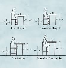 Bar Stool Size Chart Bar Stool Dimensions How To Choose The Right Ones Wayfair