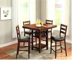 5 piece high top dining set dining table set for 4 high top table chair small kitchen 5 piece counter height mainstays 5 piece glass top metal dining set