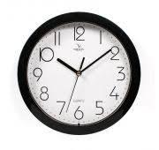 <b>Часы Вега</b> П1-6/6-4 Классика белая в черном <b>настенные</b> круглые ...