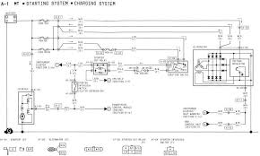 mazdacar wiring diagram page 2 starting system and charging system wiring of 1994 mazda rx 7