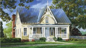 Gothic Revival Style House - Plan HWBDO14785