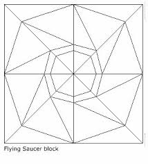 926 best ✂ Quilts - Foundation Paper Piecing images on Pinterest ... & Free Paper Piecing Blocks | ... block here information about this flying  saucer block · Applique Quilt PatternsPaper ... Adamdwight.com