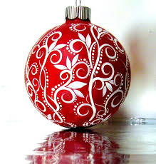 ornaments glass ornaments ideas painting glass for