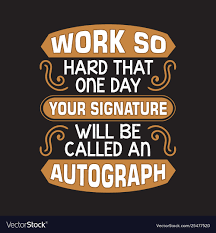 Funny Work Quote And Saying Good For Print Vector Image