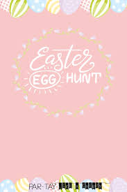 Free Easter Egg Hunt Invitation Party Like A Cherry
