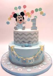 Baby Boy First Birthday Cake Recipes Mickey Mouse Cakes Babyplanet