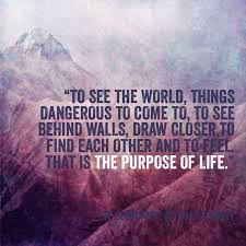 best the secret life of walter mitty images the secret life of walter mitty theme quote to see the world things dangerous to come to to see behind walls draw closer to each other and to