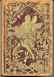 vine book cover an unusual and rare book of german poetry the book is bound in brown leather and embossed w gold designs of flowers and the flower