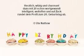 Sprüche Zum 20 Geburtstag Geburtstagswünsche Zum 20