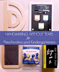 Handwriting Without Tears for Preschoolers and Kindergarteners