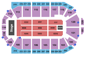 1stbank Center Seating Chart Broomfield