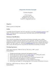 911 Dispatcher Resume Nguonhangthoitrang Net