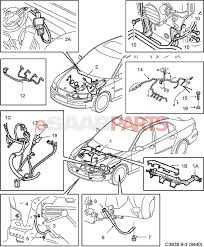 Esaabparts saab 9 3 9440 u003e electrical parts u003e wiring harness rh esaabparts 2006 saab 9 3 sound system diagram 2006 saab 9 3 sound system