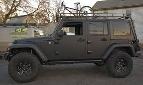 blacked out 4 door jeep wrangler w 3rd row drool dream
