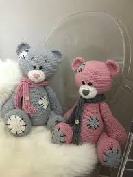 Crochet Teddy Bear Pattern Inspiration Me 48 You Beertje Acryl Wibra Nld 4848 Haken Knuffels Pinterest
