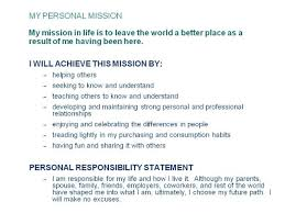 What Is Your Personal Mission The Pharmaco Marketer What Is Your Personal Mission
