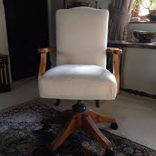 5100 Interior Design Ideas Designs Home Ideas  Ducal Victoria Pine Office Chair Cream Fabric Well Made Padded