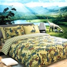 army bed set boys green and cream army camouflage and dinosaur pattern jungle animal shabby chic cotton twin full queen size bedding sets army digital camo