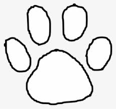 Image result for white bengal paw print
