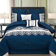 california king sized bedspreads navy blue bedding size comforter sets dark comforters and white color double