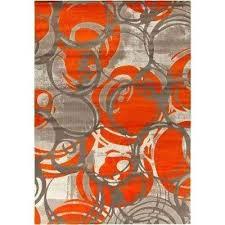 burnt orange 8 ft x indoor area rug rugs n