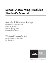 Chart Of Accounts For School Business Witness Fitness 2012 North Park Secondary School