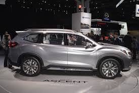 3 row subaru 2018.  Subaru Subaru Ascent Concept With 3 Row Subaru 2018