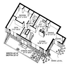 first floor plan of contemporary earth sheltered s house plan Ski House Plans first floor plan of contemporary earth sheltered s house plan 19863 two more bedrooms and ski house plans small