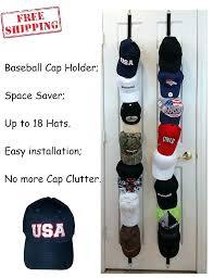 hat holder for door baseball hat holder cap rack organizer closet over the door hanger wall hat holder