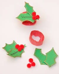 Holiday Placecards Holiday Place Cards Activity Education Com