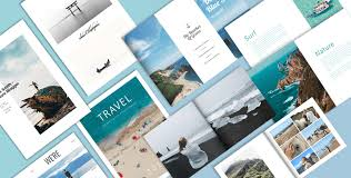 Travel Brochure Cover Design How To Make A Stunning Travel Brochure Flipsnack Blog