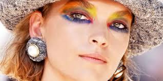 unicorn makeup for paris haute couture fashion week by chanel