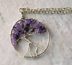 wire wrapped tree of life necklace tutorial