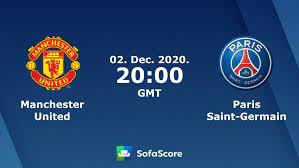 Manchester United Paris Saint-Germain live score, video stream and H2H  results - SofaScore