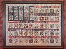 ROSEWOOD MANOR American Flag Quilt Sampler Cross & Like this item? Adamdwight.com