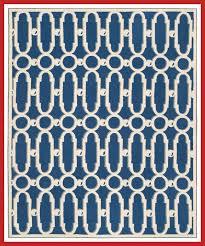 sheeran royal blue white geometric area rug rug size rectangle 7 9 x 9 9