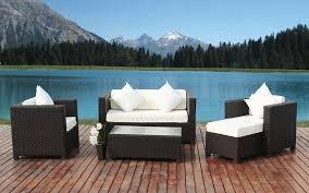 image modern wicker patio furniture. outdoorexciting modern wicker furniture for outdoor patio by the pool astonishing lake house with image