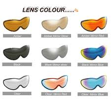 Ski Goggle Lens Colours Lens Colour Wing Hang Cheong Tai