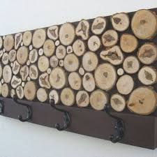 Rustic Coat Rack Amazing Hand Crafted Rustic Wood Coat Rack By Modern Rustic Art LLC