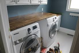 laundry room countertops stylish incredible diy countertop over washer dryer with 18